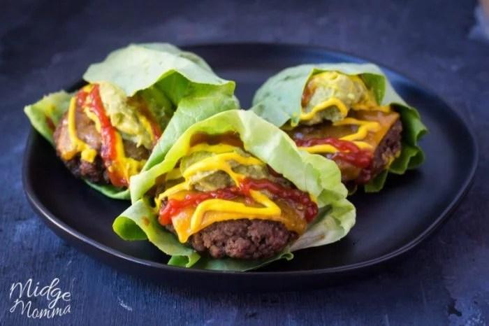 Hamburger Lettuce Wraps