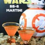 BB8 Orange Martini