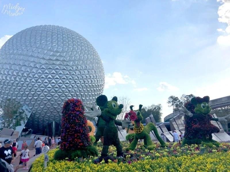 Disney Flower And Garden Festival Food