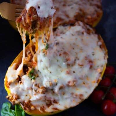 Spaghetti Squash Lasagna Bowl