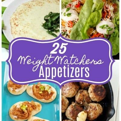 Having a party but want to stick to your Weight Watchers plan? You are in luck with these 25 amazing Weight Watchers Appetizer Recipes!