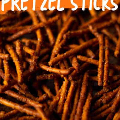 Buffalo Wings Pretzel Sticks RECIPE