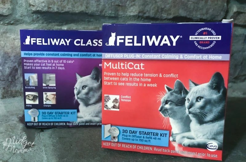 Feliway MultiCat Diffuser in boxes