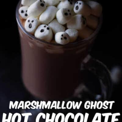 Marshmallow ghost Halloween Hot Chocolate 4
