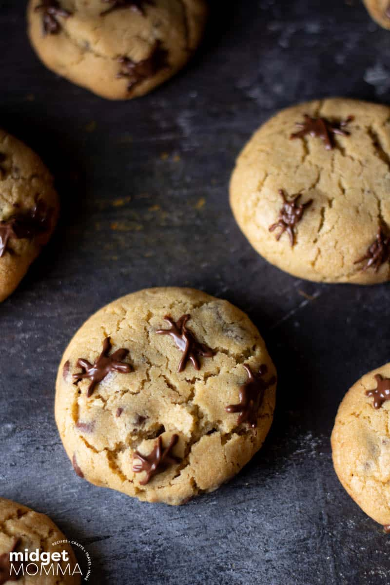 spider chocolate chip cookies RECIPE