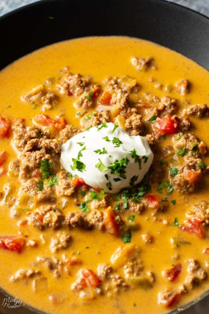 taco soup crockpot