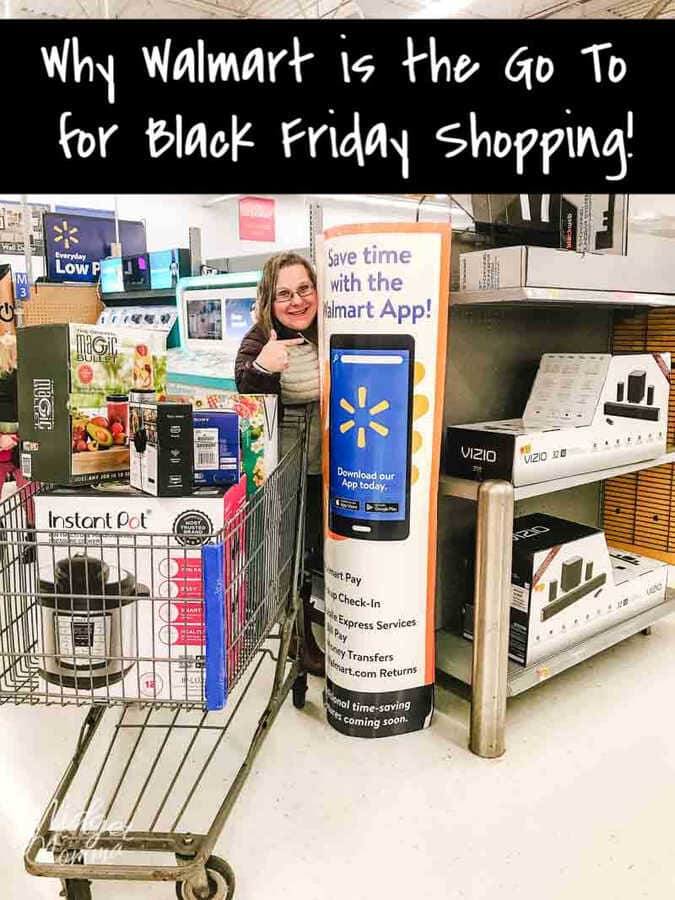 Black Friday is the best day of the year, it is my favorite holiday ever and this year I will be spending my time at Walmart