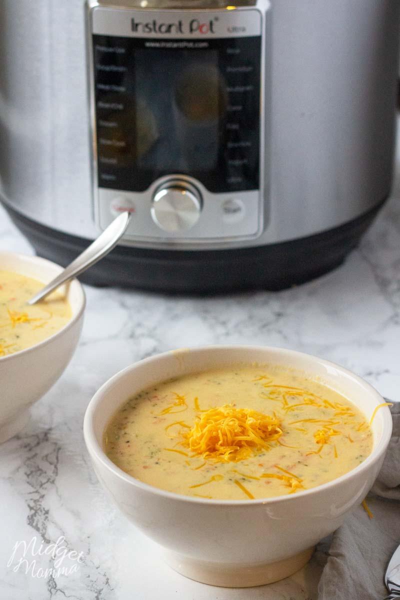 Keto Broccoli and Cheddar Soup