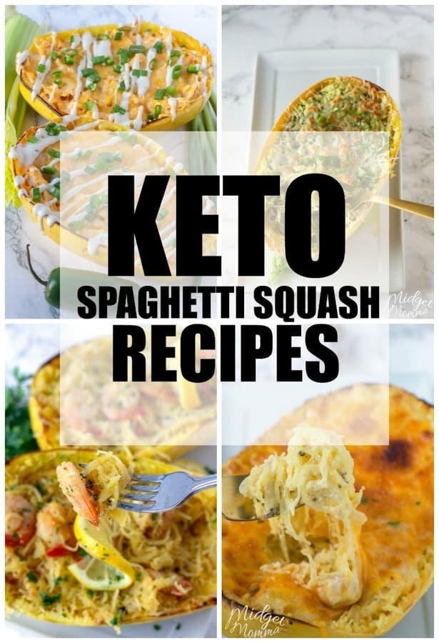 Keto spaghetti Squash