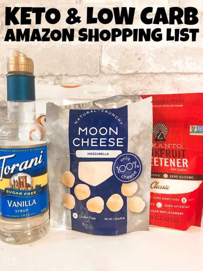 Amazon keto shopping list