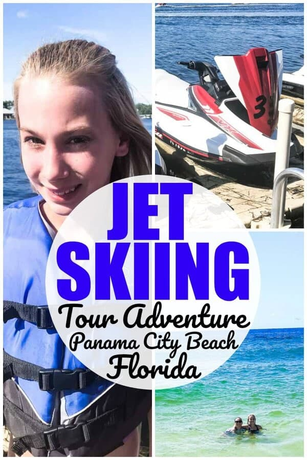 Looking to go jet skiing in Panama City Beach Florida? We had a blast on our jet ski tour with Adventures at Sea when we were in Panama City Beach!