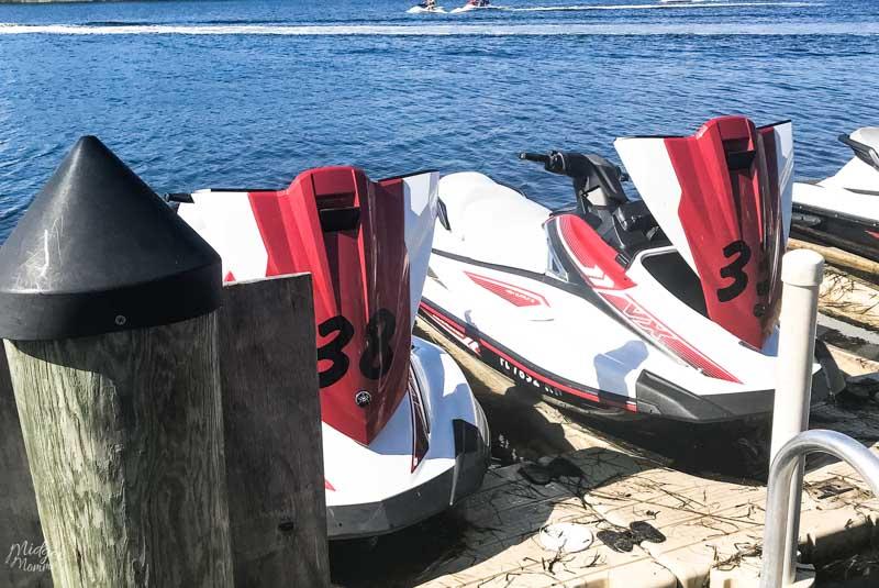 jet skiing in panama city beach florida
