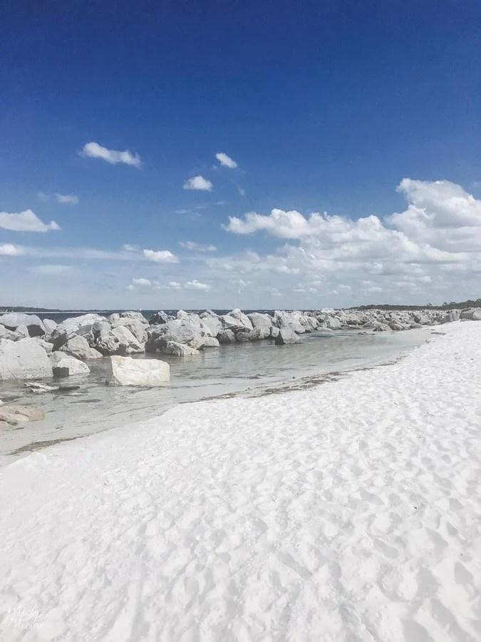 shell island gulf of mexico panama city beach