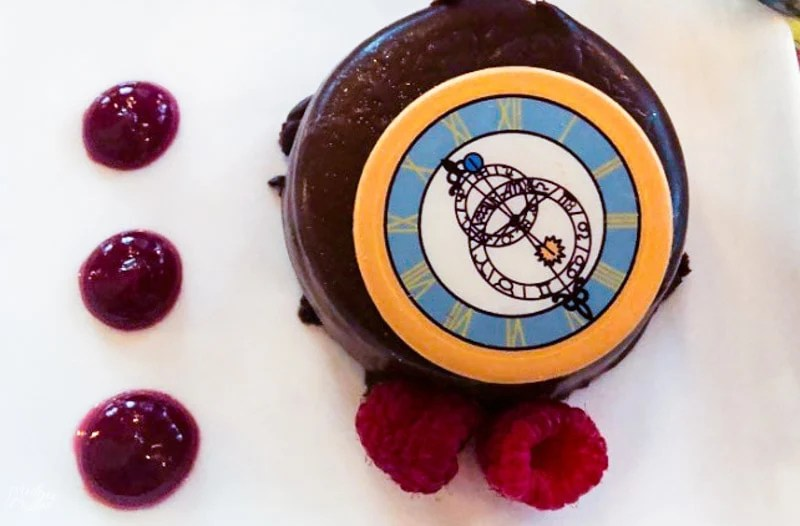 Cinderella's Royal Table adult dessert