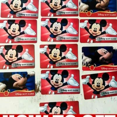 How to get discounted disney gift cards
