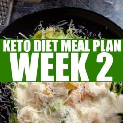 Keto Diet Meal Plan Week 2