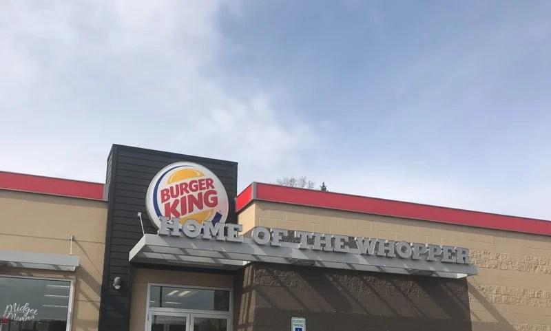 Low Carb and Keto Breakfast at Burger King