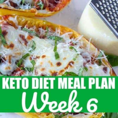 Keto Diet Meal Plan 6