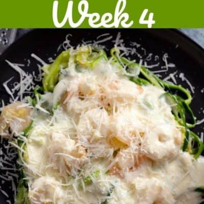 keto diet meal plan week 4