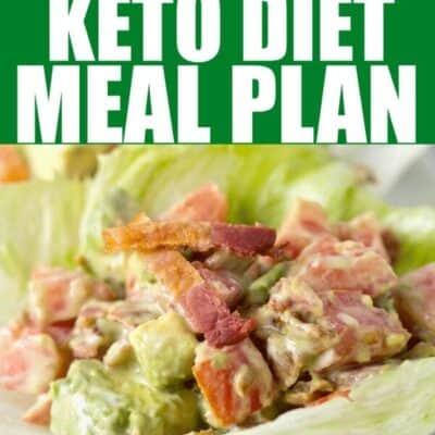 keto diet meal plan week 5