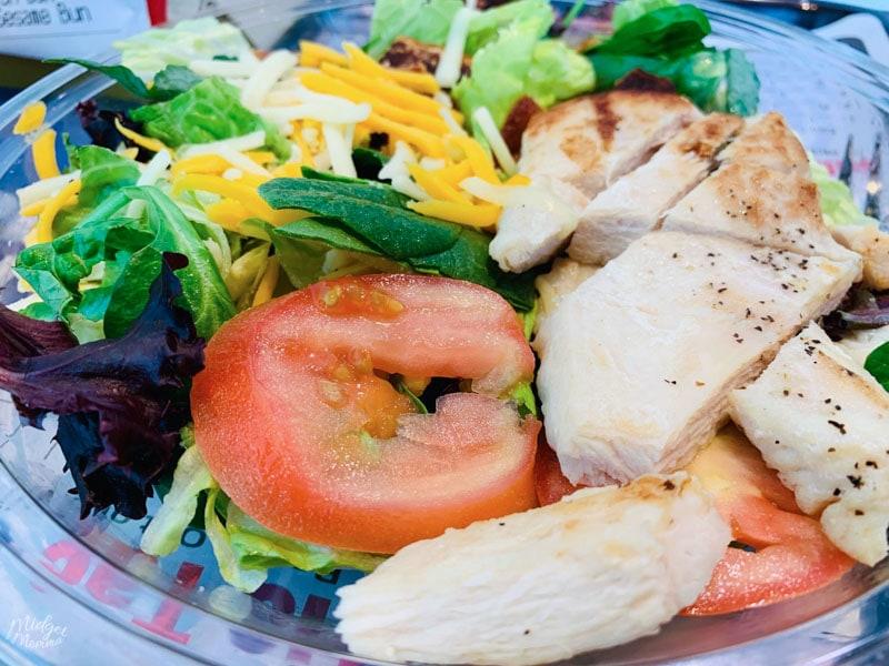 keto Salads at mcdonalds