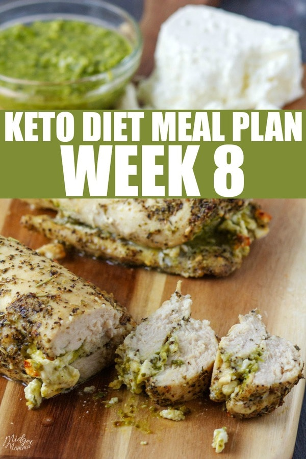 Keto Diet Meal Plan week 8