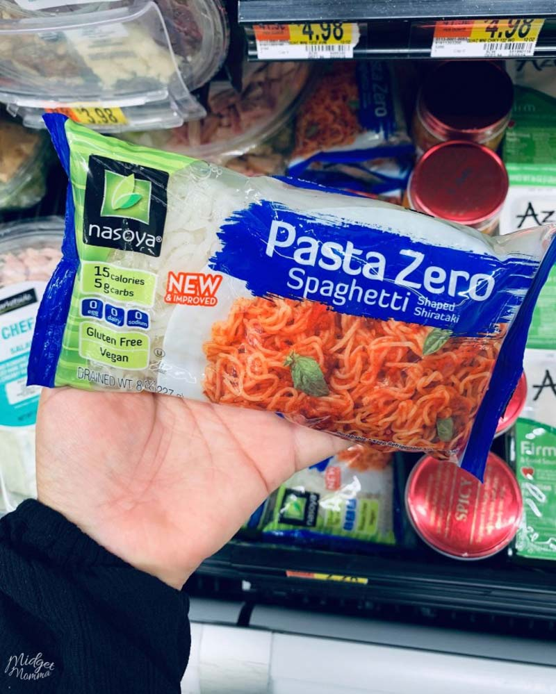 Pasta Zero at Walmart