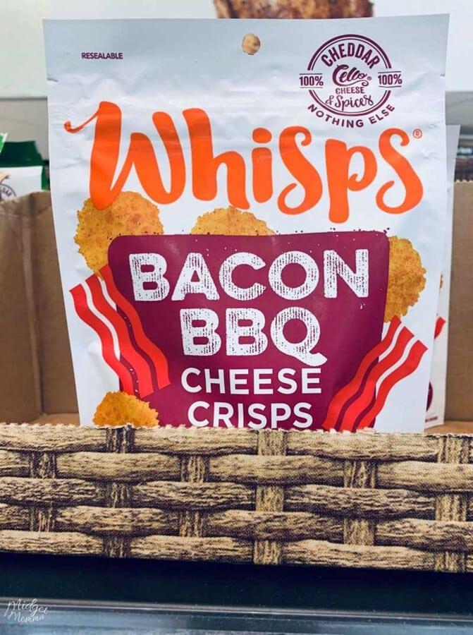 Keto snacks at walmart - Bacon BBQ Cheese Whisps