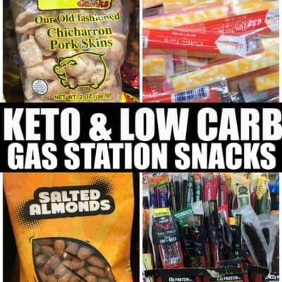 Keto Gas Station Snacks
