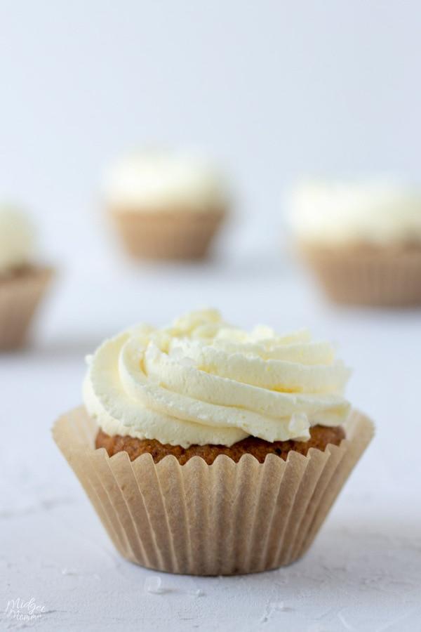 Sugar Free Salted Caramel Cupcakes
