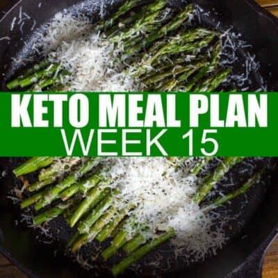 Keto Meal Plan week 15