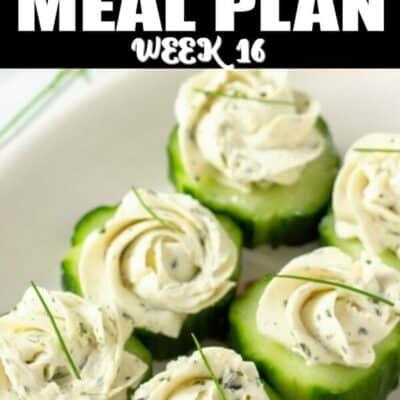 keto meal plan week 16