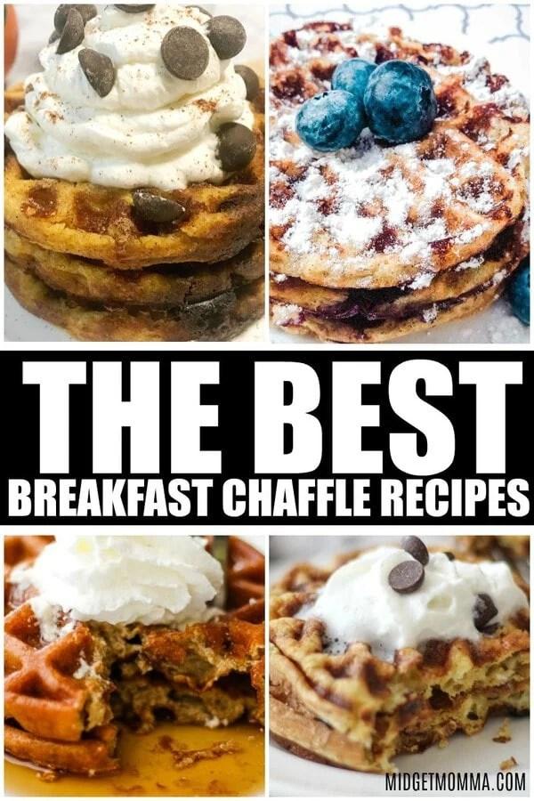 BREAKFAST CHAFFLE RECIPES
