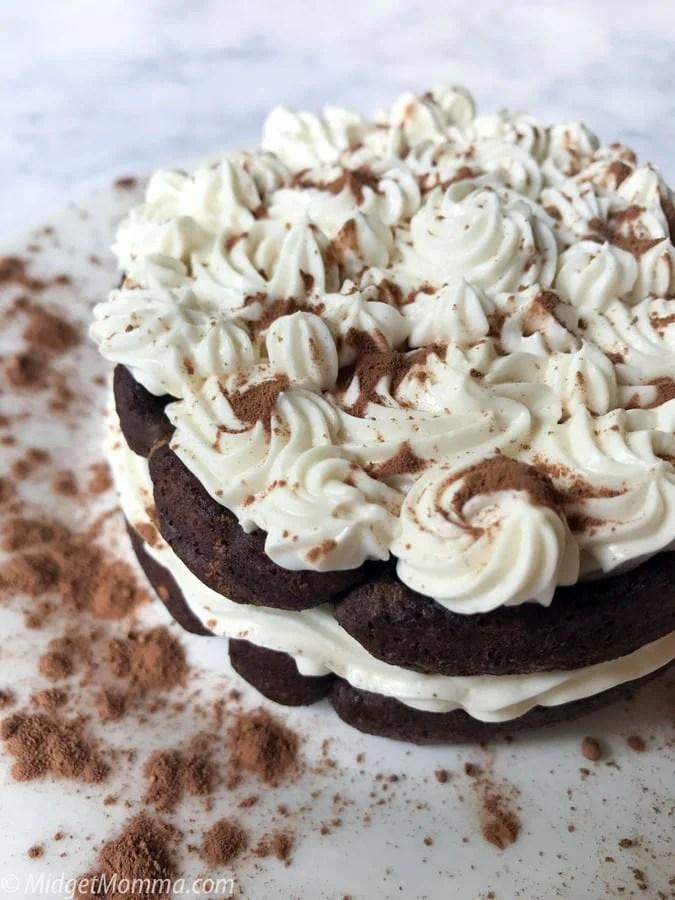 Chocolate Chaffle Cake