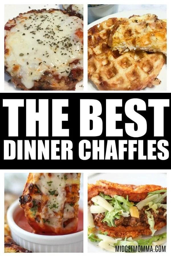 DINNER CHAFFLES