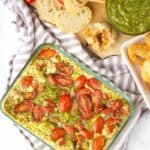 Pesto dip recipe