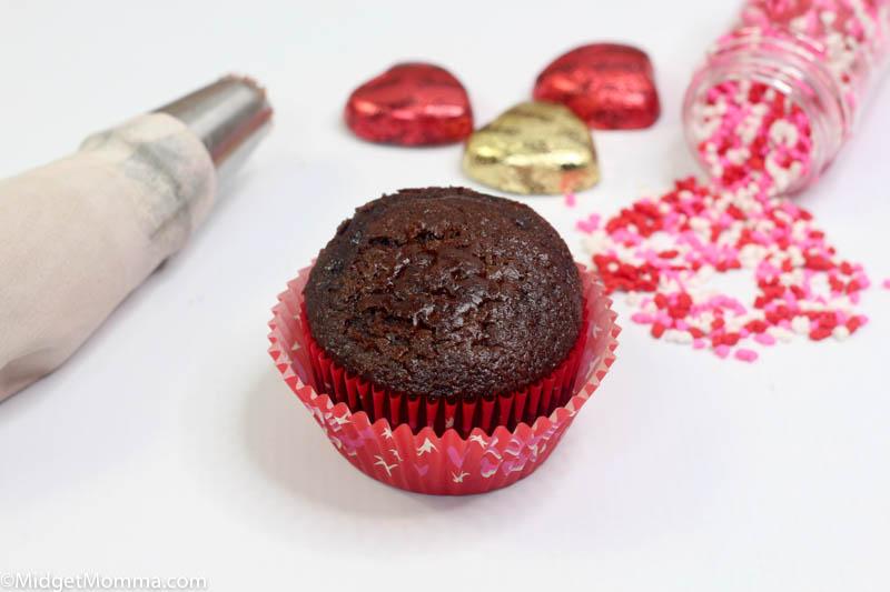Chocolate Valentine's Day Cupcakes