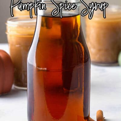 Homemade Pumpkin Spice Syrup-7
