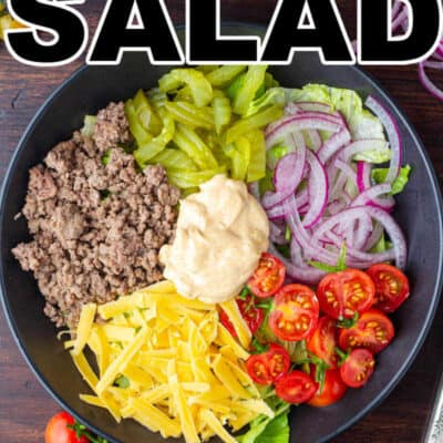 Big Mac Salad RECIPE