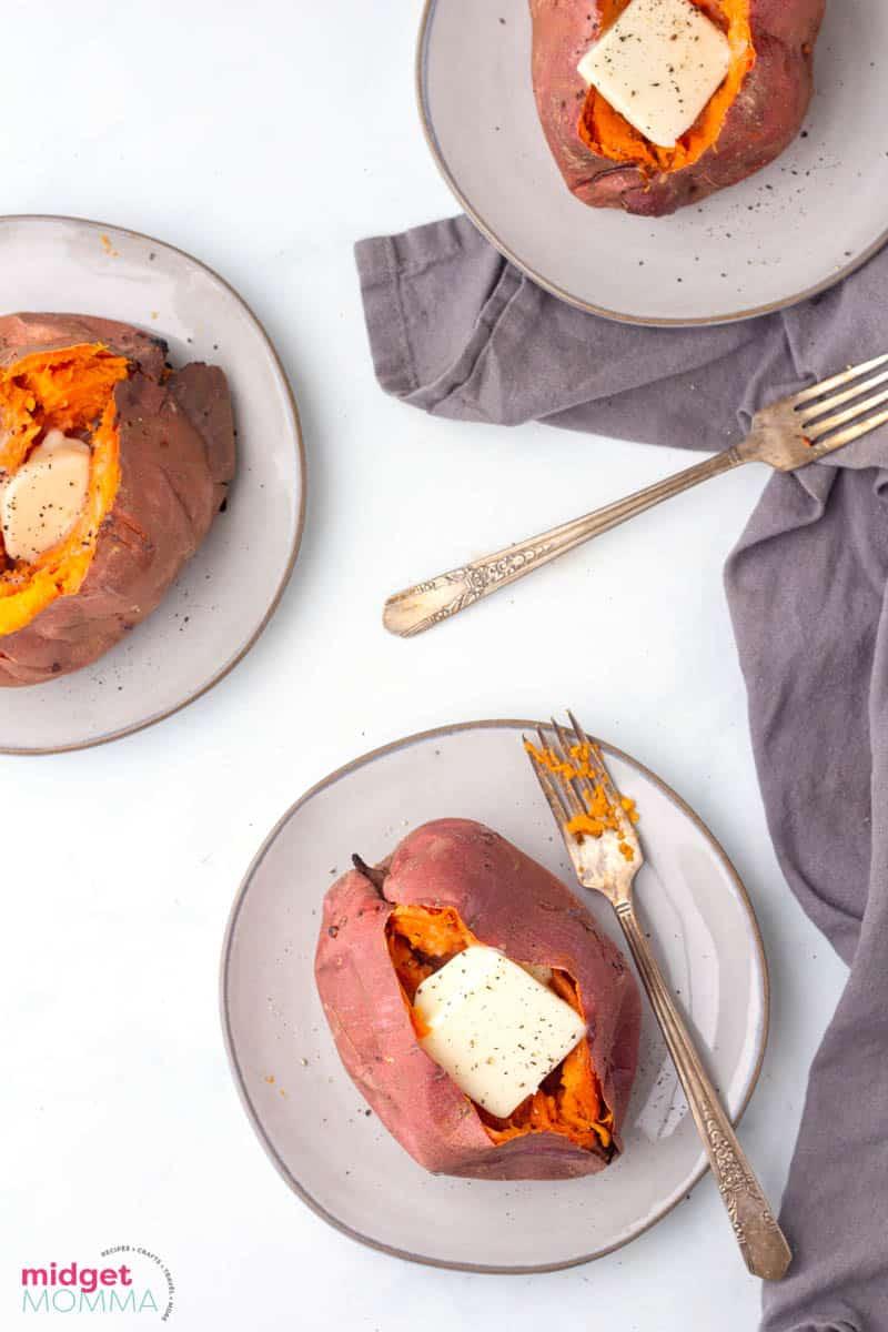 Easy Oven Baked Sweet Potatoes