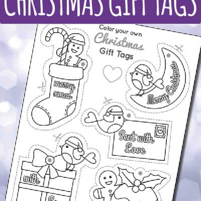 Color You Own Printable Gift Tags