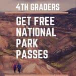 4th grade national park pass