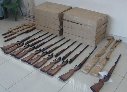 Trafic d'armes : La police traque le cerveau de l'affaire