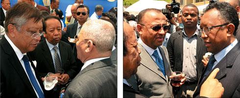 Elections présidentielles 2e tour : Jean Louis Robinson et Hery Rajaonarimampianina confirmés