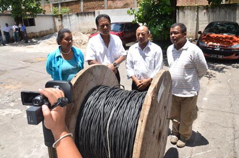Dadou candidat n°30 : 500 m de câbles électriques pour le IIIe arrondissement