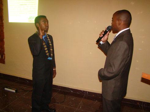 JCI Ambositra : Andriamifidy Radaoroson Salohintsoa nouveau Président  pour  2014