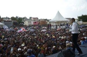 Une marée humaine au grand meeting « Torajofo » à Tsarahonenana.
