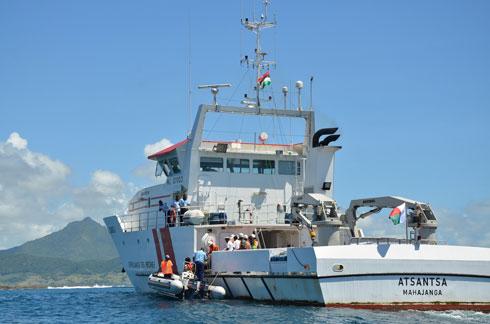 Le patrouilleur Atsantsa : En mission de surveillance dans l'océan Indien