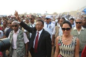 Hery Rajaonarimampianina reste confiant quant à sa victoire à l'élection présidentielle.