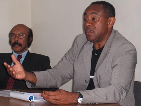 Football Bilan 2013 : « Nos joueurs à l'étranger ont le vent en poupe », raconte le président Ahmad